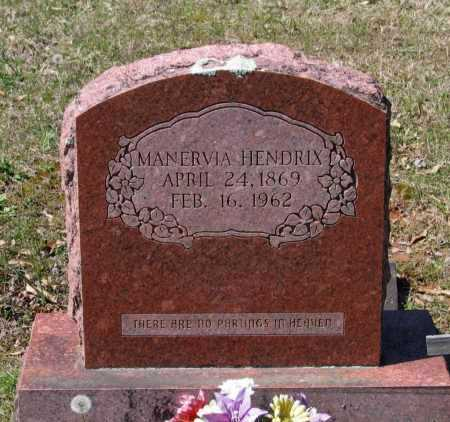 HENDRIX, MANERVIA VIRGINIA - Lawrence County, Arkansas | MANERVIA VIRGINIA HENDRIX - Arkansas Gravestone Photos