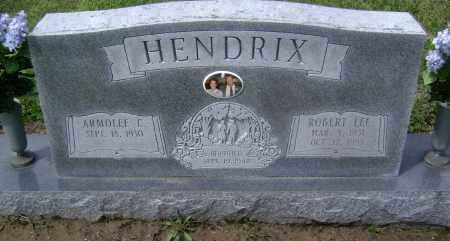 HENDRIX. SR, ROBERT LEE - Lawrence County, Arkansas | ROBERT LEE HENDRIX. SR - Arkansas Gravestone Photos