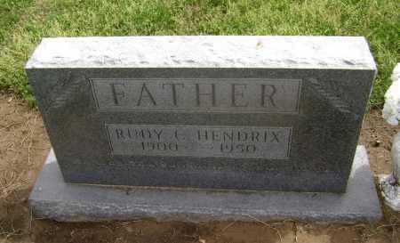 HENDRIX, RUDY C. - Lawrence County, Arkansas | RUDY C. HENDRIX - Arkansas Gravestone Photos