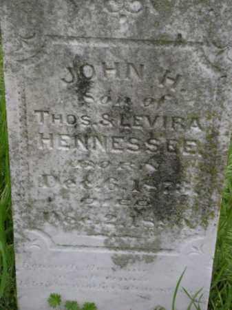 HENNESSEE, JOHN H, - Lawrence County, Arkansas   JOHN H, HENNESSEE - Arkansas Gravestone Photos