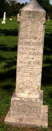 HENNESSEE, WILLIAM F. - Lawrence County, Arkansas   WILLIAM F. HENNESSEE - Arkansas Gravestone Photos