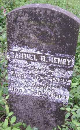 HENRY, SAMUEL D. - Lawrence County, Arkansas | SAMUEL D. HENRY - Arkansas Gravestone Photos