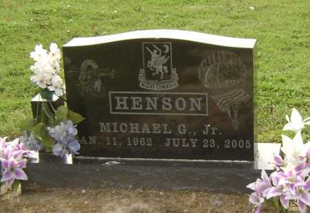 HENSON, JR, MICHAEL GENE - Lawrence County, Arkansas | MICHAEL GENE HENSON, JR - Arkansas Gravestone Photos