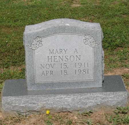 HENSON, MARY ALICE - Lawrence County, Arkansas   MARY ALICE HENSON - Arkansas Gravestone Photos