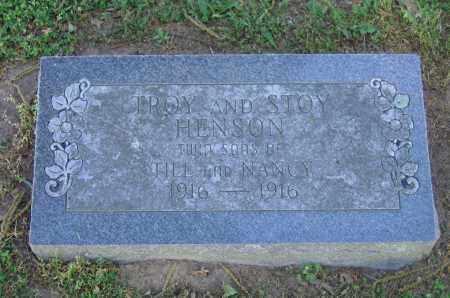 HENSON, STOY - Lawrence County, Arkansas | STOY HENSON - Arkansas Gravestone Photos