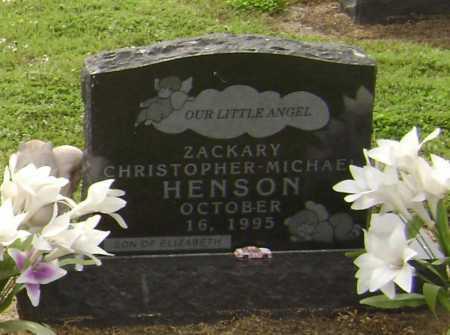 HENSON, ZACKARY CHRISTOPHER MICHAEL - Lawrence County, Arkansas | ZACKARY CHRISTOPHER MICHAEL HENSON - Arkansas Gravestone Photos