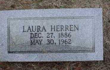 BROWN HERREN, LAURA VIOLA - Lawrence County, Arkansas   LAURA VIOLA BROWN HERREN - Arkansas Gravestone Photos