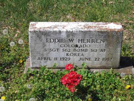 HERREN (VETERAN KOR), EDDIE W. - Lawrence County, Arkansas   EDDIE W. HERREN (VETERAN KOR) - Arkansas Gravestone Photos