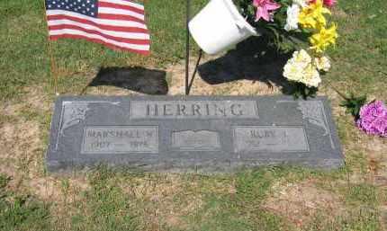 HERRING (VETERAN WWII), MARSHALL W. - Lawrence County, Arkansas | MARSHALL W. HERRING (VETERAN WWII) - Arkansas Gravestone Photos