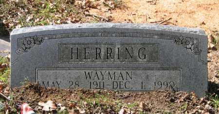 HERRING, WAYMAN - Lawrence County, Arkansas | WAYMAN HERRING - Arkansas Gravestone Photos