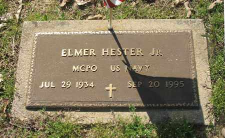 HESTER, JR. (VETERAN), ELMER - Lawrence County, Arkansas | ELMER HESTER, JR. (VETERAN) - Arkansas Gravestone Photos