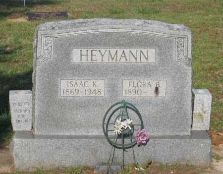 HEYMANN, FLORA B. - Lawrence County, Arkansas | FLORA B. HEYMANN - Arkansas Gravestone Photos