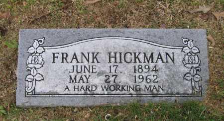 HICKMAN, FRANK - Lawrence County, Arkansas | FRANK HICKMAN - Arkansas Gravestone Photos
