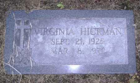 HICKMAN, VIRGINIA - Lawrence County, Arkansas | VIRGINIA HICKMAN - Arkansas Gravestone Photos
