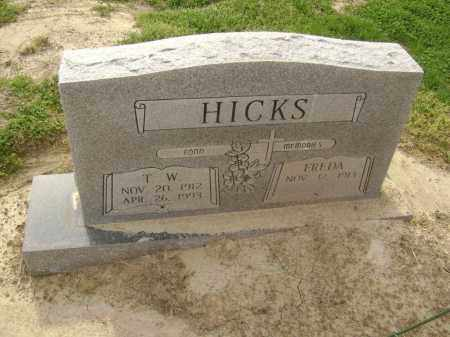 "HICKS, THOMAS WILLIAM ""T. W."" - Lawrence County, Arkansas 