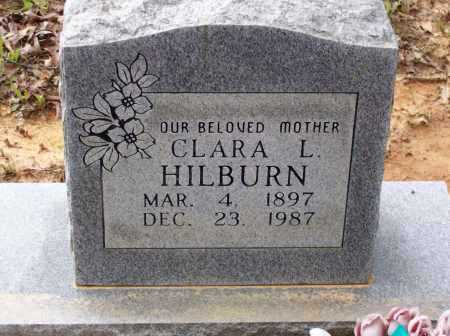 GIDEON HILBURN, CLARA LEE - Lawrence County, Arkansas | CLARA LEE GIDEON HILBURN - Arkansas Gravestone Photos