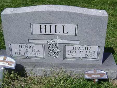 MULLEN HILL, JUANITA - Lawrence County, Arkansas | JUANITA MULLEN HILL - Arkansas Gravestone Photos
