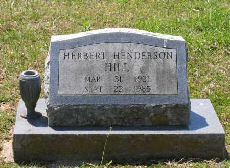 HILL, HERBERT HENDERSON - Lawrence County, Arkansas   HERBERT HENDERSON HILL - Arkansas Gravestone Photos