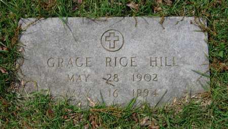 RICE HILL, LADY GRACE - Lawrence County, Arkansas | LADY GRACE RICE HILL - Arkansas Gravestone Photos