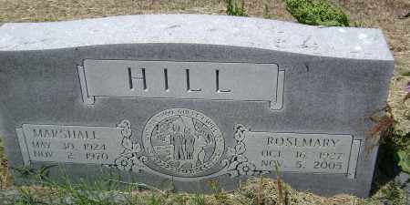 HILL, ROSEMARY - Lawrence County, Arkansas | ROSEMARY HILL - Arkansas Gravestone Photos