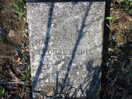 ROBERTS HILL, MARY A. - Lawrence County, Arkansas | MARY A. ROBERTS HILL - Arkansas Gravestone Photos