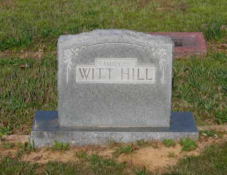 HILL, WITT - Lawrence County, Arkansas | WITT HILL - Arkansas Gravestone Photos