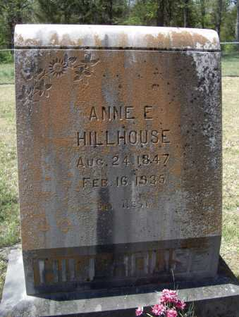 """HILLHOUSE, ANNE E. """"DAUGHT"""" - Lawrence County, Arkansas 