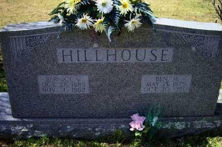 "HILLHOUSE, BENJAMIN MILTON ""BEN M."" - Lawrence County, Arkansas | BENJAMIN MILTON ""BEN M."" HILLHOUSE - Arkansas Gravestone Photos"