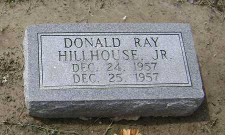 HILLHOUSE, JR., DONALD RAY - Lawrence County, Arkansas | DONALD RAY HILLHOUSE, JR. - Arkansas Gravestone Photos