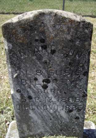 BILBREY, INFANT SON - Lawrence County, Arkansas   INFANT SON BILBREY - Arkansas Gravestone Photos