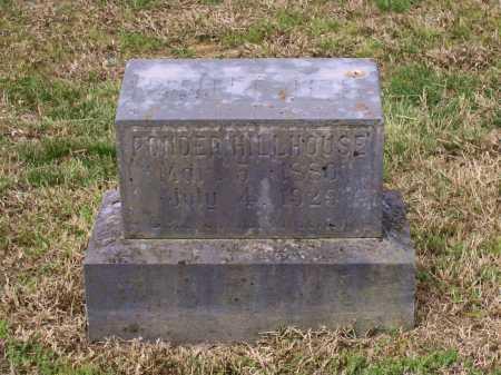 HILLHOUSE, PONDER - Lawrence County, Arkansas | PONDER HILLHOUSE - Arkansas Gravestone Photos