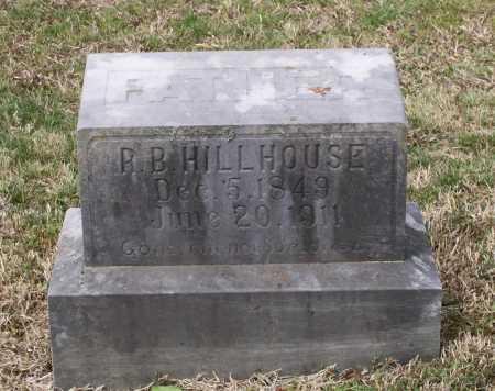 "HILLHOUSE, RUFUS B. ""R. B."" - Lawrence County, Arkansas   RUFUS B. ""R. B."" HILLHOUSE - Arkansas Gravestone Photos"