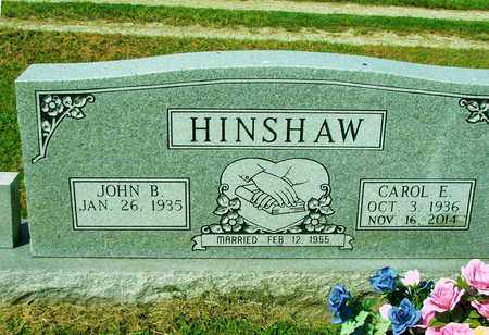 LIVENGOOD HINSHAW, CAROL EVELYN - Lawrence County, Arkansas | CAROL EVELYN LIVENGOOD HINSHAW - Arkansas Gravestone Photos