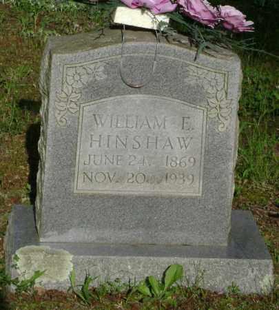 HINSHAW, WILLIAM E. - Lawrence County, Arkansas | WILLIAM E. HINSHAW - Arkansas Gravestone Photos