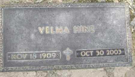 CRISP HINZ, VELMA - Lawrence County, Arkansas | VELMA CRISP HINZ - Arkansas Gravestone Photos