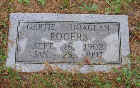 HOAGLAN, GERTIE - Lawrence County, Arkansas | GERTIE HOAGLAN - Arkansas Gravestone Photos