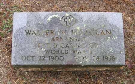 HOAGLAN (VETERAN WWI), WALTER W - Lawrence County, Arkansas   WALTER W HOAGLAN (VETERAN WWI) - Arkansas Gravestone Photos