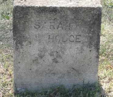 HODGE, SARAH E. - Lawrence County, Arkansas | SARAH E. HODGE - Arkansas Gravestone Photos