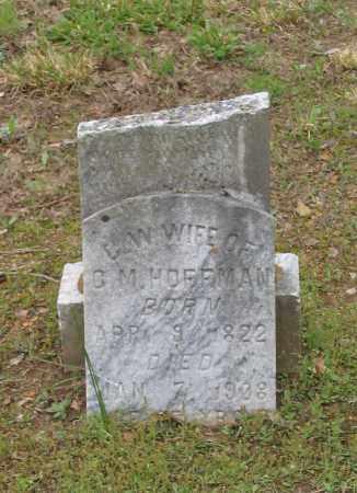 BISHOP HOFFMAN, CATHERINE W. - Lawrence County, Arkansas | CATHERINE W. BISHOP HOFFMAN - Arkansas Gravestone Photos