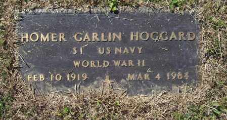 HOGGARD (VETERAN WWII), HOMER GARLIN - Lawrence County, Arkansas | HOMER GARLIN HOGGARD (VETERAN WWII) - Arkansas Gravestone Photos