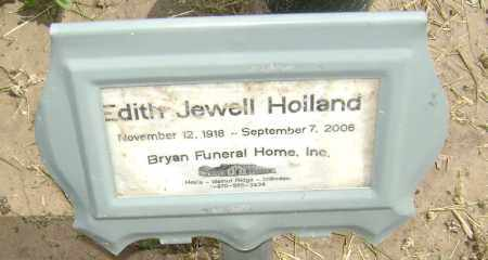 HOLLAND, EDITH JEWELL - Lawrence County, Arkansas | EDITH JEWELL HOLLAND - Arkansas Gravestone Photos