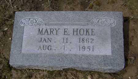 HOKE, MARY E. - Lawrence County, Arkansas   MARY E. HOKE - Arkansas Gravestone Photos