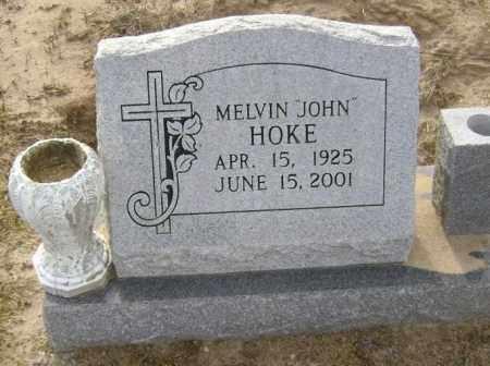 HOKE, MELVIN JOHN - Lawrence County, Arkansas | MELVIN JOHN HOKE - Arkansas Gravestone Photos