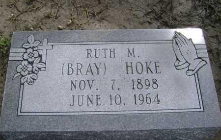 BRAY HOKE, RUTH M. - Lawrence County, Arkansas | RUTH M. BRAY HOKE - Arkansas Gravestone Photos