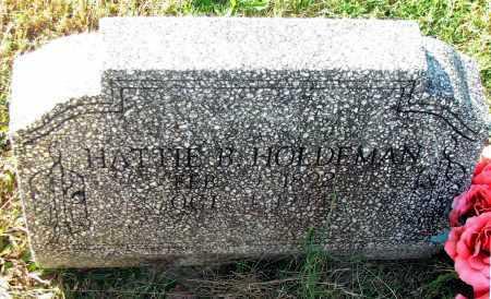 HOLDEMAN, HATTIE BELLE - Lawrence County, Arkansas | HATTIE BELLE HOLDEMAN - Arkansas Gravestone Photos