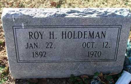 HOLDEMAN, ROY HAROLD - Lawrence County, Arkansas | ROY HAROLD HOLDEMAN - Arkansas Gravestone Photos