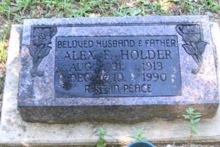 HOLDER, ALEX FRANK - Lawrence County, Arkansas   ALEX FRANK HOLDER - Arkansas Gravestone Photos