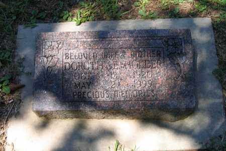 HOLDER, DOROTHY E. - Lawrence County, Arkansas | DOROTHY E. HOLDER - Arkansas Gravestone Photos