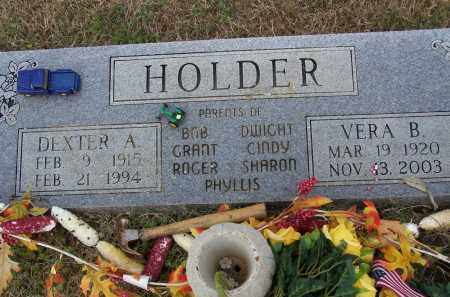 HOLDER, VERA B. - Lawrence County, Arkansas | VERA B. HOLDER - Arkansas Gravestone Photos