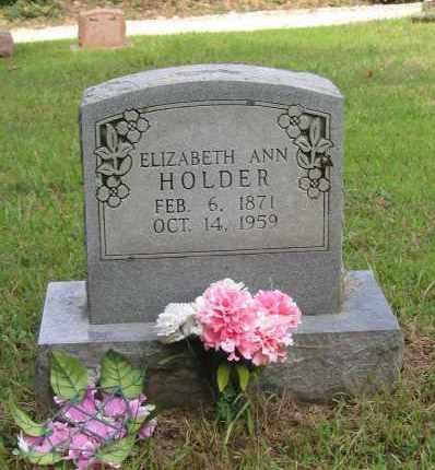 "HOLDER, ELIZABETH ANN ""LIZZIE"" - Lawrence County, Arkansas   ELIZABETH ANN ""LIZZIE"" HOLDER - Arkansas Gravestone Photos"